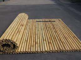 Bamboo Fencing Cane Fences Sticks Rolls Panel Best Deals Wholesale Dealers Rolled Bamboo Sticks Privacy Fence Garden Panel Bamboo Fence Fence Panels Apartment Patio Decor