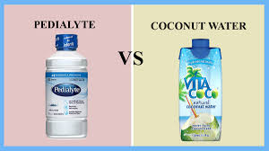pedialyte vs coconut water thosefoods