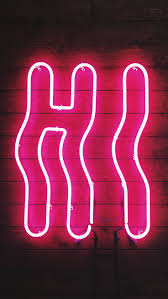 neon iphone wallpapers by preppy