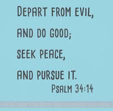 Religious Wall Quotes Seek Peace Vinyl Lettering Home Decor Stickers