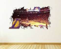 Los Angeles Dodgers Dodger Stadium Smashed 3d Wall Decal Sticker Decor Op103