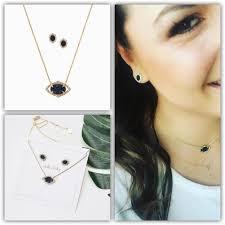 stella and dot charlotte pendant set
