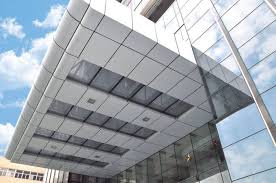 outdoor and indoor curtain wall panel
