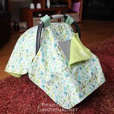 diy waterproof car seat canopy baby