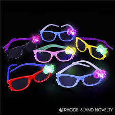 nerd kitty frames with light up bow