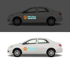 Custom Vinyl Car Decals Reflective Automotive Stickers