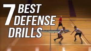 best defense drills for basketball