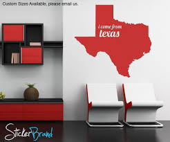 Vinyl Wall Decal Sticker Texas State Map Os Mb180 Stickerbrand