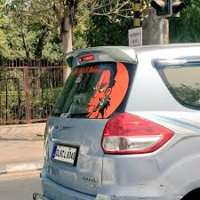 Karnika Pa Twitter Is It Just Me Or Every 3rd 4th Car In Delhi Has This Sticker Lot Of Angry Hanuman Bhakts Apparently