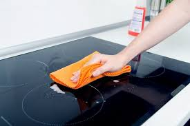 remove scratches from a glass stove top