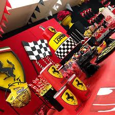 Ferrari Birthday Party Maculadesign Nachosdesserts Ferrari