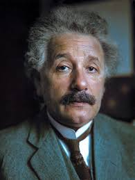 colorized by Jecinci // Einstein was a German-born theoretical ...