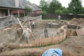 phases of building an inground pool