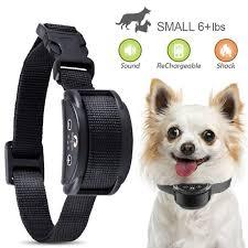 Rechargeable Anti No Barking Collar Electric Shock Dog Pet Bark Training Collar Walmart Com Walmart Com