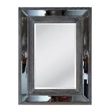 wood frame decorative mirrors wall