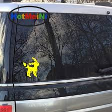 12cm 12cm Umbreon Pokemon Funny Jdm Personalized Car Stickers Vinyl Decal Car Window Truck Bumper Anime Video Game Wish
