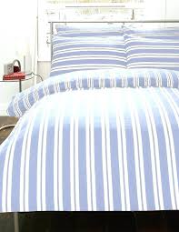 blue striped bedding hide away