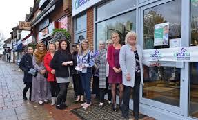 New DEBRA Charity Shop Opens in West Byfleet - DEBRA News - DEBRA
