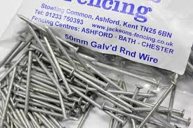 1kg Pack 50mm 2 Nails Galvanised Round Wire 2 65mm Gauge Jacksons Fencing
