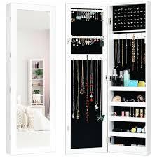 jewelry cabinet armoire door wall