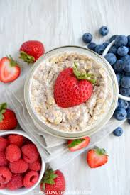 simple overnight oats o nutritarian