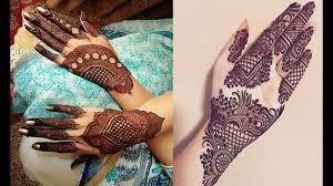 mehndi design simple new style