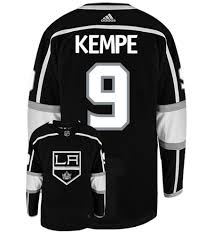 Adrian Kempe Los Angeles Kings Adidas Authentic Home NHL Hockey Jersey
