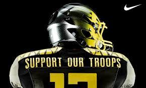 oregon ducks football troops