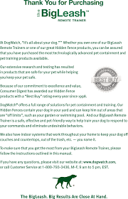 Dwcblsh Wireless Dog Trainer Receiver Collar User Manual Manual 2009 4 2 Rt Owners Guide Pdf Dogwatch