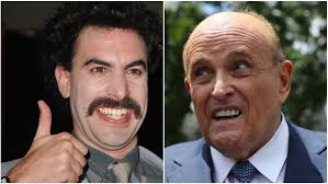 Rudy Giuliani Caught On Camera Appearing To Touch Genitals During 'Borat' Prank