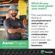 Aaron Rogers: Dedicated Problem Solver - Scorpio Community-Centered  Construction