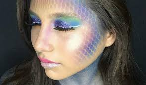 how to wear a dazzling mermaid makeup