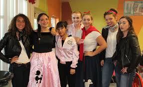 homecoming week day 1 50s attire