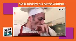 Videochoc della tv francese sulla pizza al Coronavirus. (guarda il ...