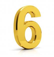 Número de oro 6 | Foto Premium