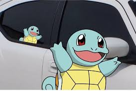 Pokemon Squirtle Anime 7 Window Car Decal Sticker Pokemon Go Pokemon Vinyl Art Vinyl Sticker