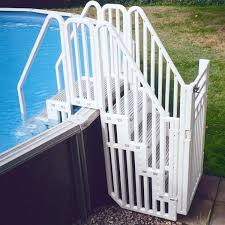 Amazon Com Confer Above Ground Pool Step Enclosure Kit Swimming Pool Ladders Garden Outdoor