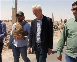 Senior U.S. diplomat William Roebuck visits Syrian Kurdistan