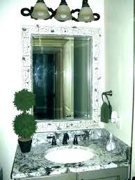 beveled mirror frame kit furniture