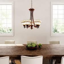 5 light oil rubbed bronze chandelier