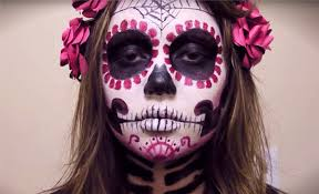 sugar skull makeup looks for