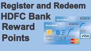 redeem hdfc bank rewards point
