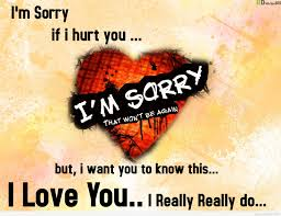 cute apology messages to a lover sorry images ilove messages