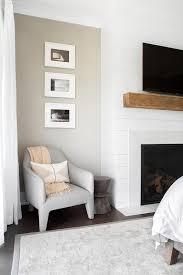 bedroom shiplap accent wall design ideas