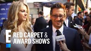 """Luke Greenfield: """"You know, no one realizes how hilarious Nina is.""""   E!  People's Choice Awards - YouTube"""