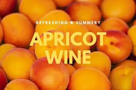 apricot wine recipe summery pink