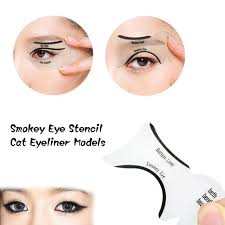 eyeliner template smokey eye stencil