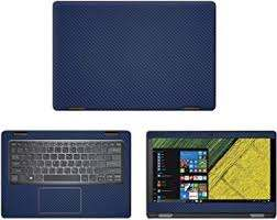 Amazon Com Decalrus Protective Decal For Acer Spin 5 Sp513 51 13 3 Screen Laptop Blue Carbon Fiber Skin Skins Decal Wrap Cfacerspin5 Sp513blue Computers Accessories