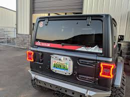 Jeep Jk Jl Rear Window Decal American Adventure Lab