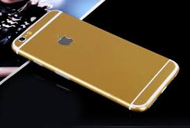 Gold Pure Decal Wrap Skin Set Iphone 6s 6 Plus Mavasoap